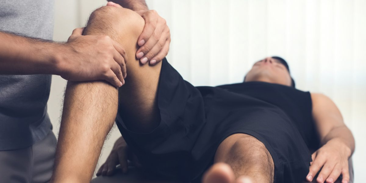 Is your knee bothering you? Schedule an appointment with Ethos Health Group today!